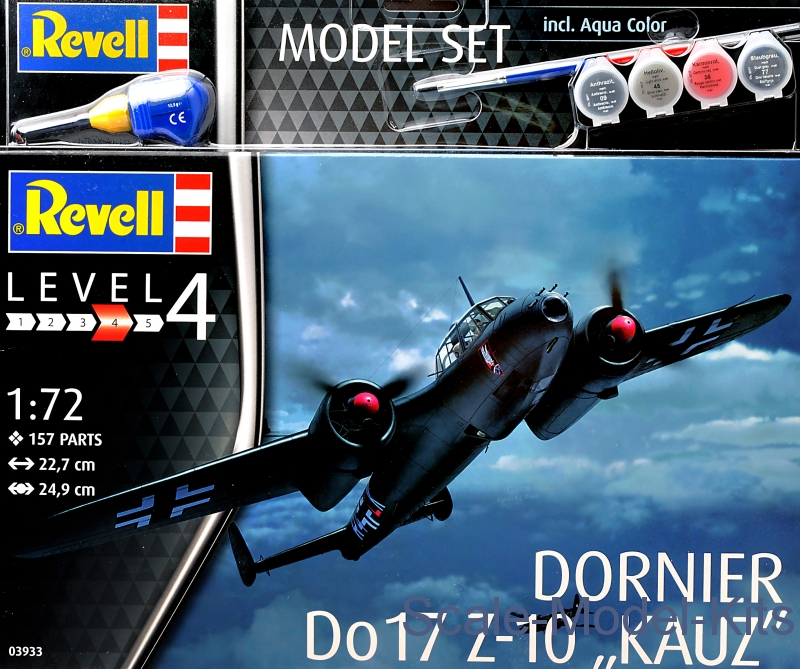 "Model Set - Dornier Do 17Z-10 ""Kauz"""