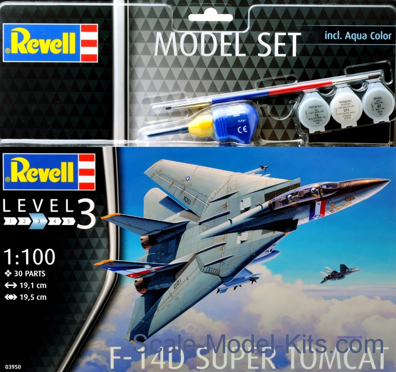 "Model Set - F-14D ""Super Tomcat"""