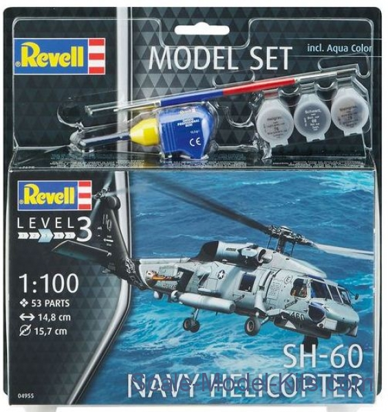 Model Set - SH-60 Navy Helicopter
