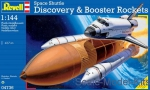 RV04736 Space Shuttle Discovery & Booster Rockets