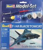 RV64029 Model Set F-14A Tomcat 'Black Bunny'