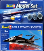 RV64037 Model Set F-117 Stealth Fighter