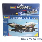Bombers: Gift set Tornado GR.1 RAF, Revell, Scale 1:72