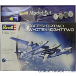 RV64842 Model Set SpaceShipTwo & Carrier White Knight Two