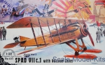 RN617 SPAD VII c.1 with Russian skies