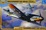 ZVE4816 German fighter aircraft Bf-109 G6