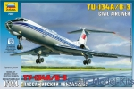 Civil aviation: Tu-134A/B-3 Civil airliner, Zvezda, Scale 1:144