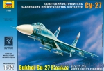 ZVE7206 Sukhoi Su-27 Russian interceptor-fighter