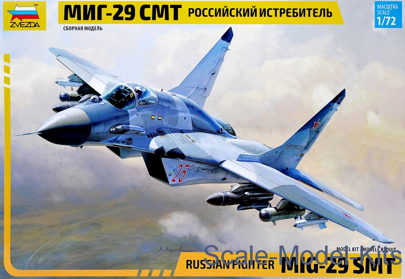 Russian fighter MIG-29 SMT